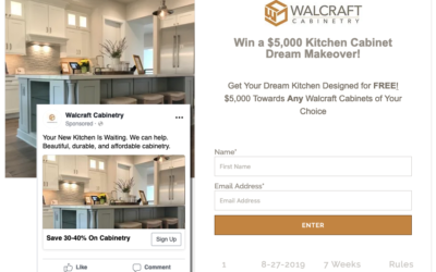 Walcraft Cabinetry - Contests, funnels
